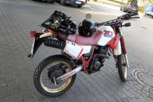 XT 600, Yamaha, Enduro