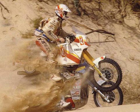 Yamaha, xt, Tenere, Dakar