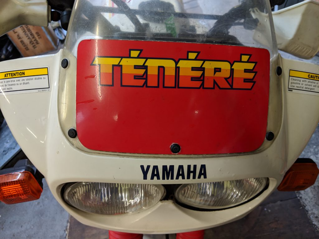 Yamaha, XT 600Z, Ténéré, Enduro, Motorrad, Dakar