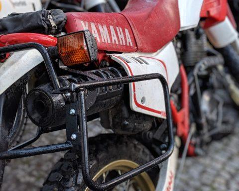 XT600, Yamaha, Hepco und Becker