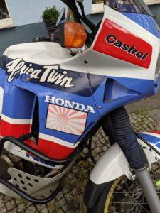 Africa Twin XRV 650, Honda, Motorbike