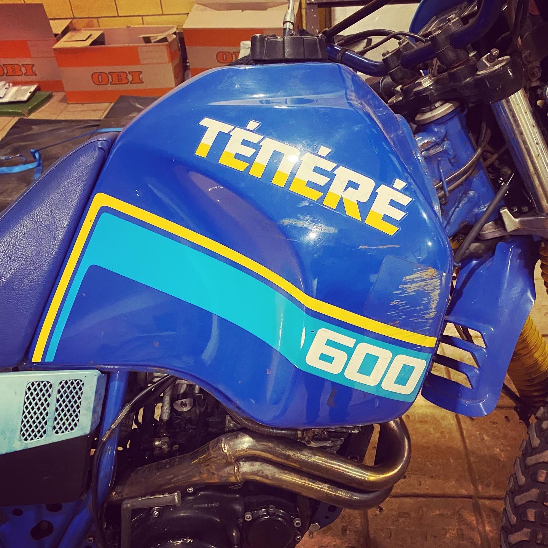 Yamaha XT600Z Ténéré, Motorrad