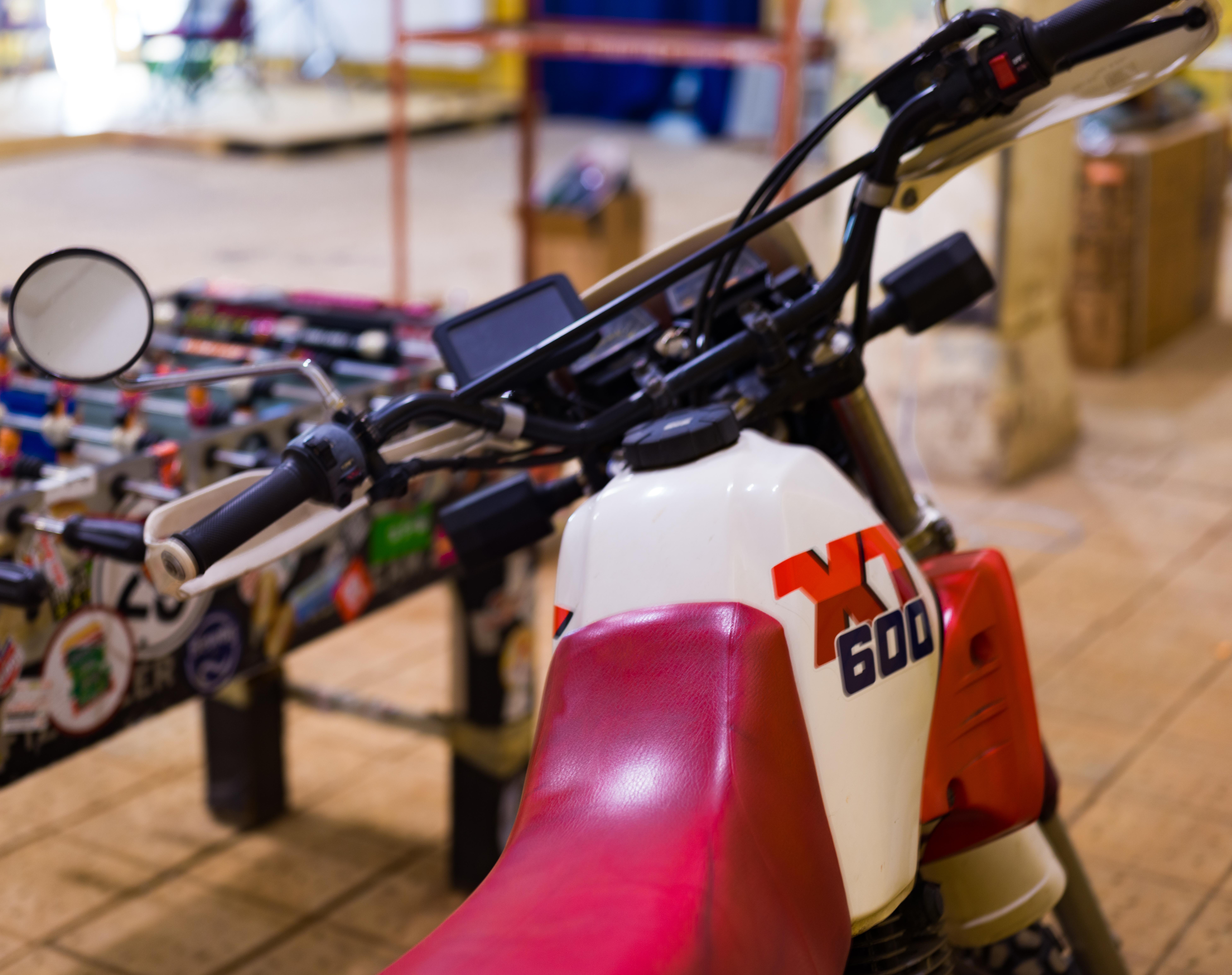 XT 600, Enduro, Yamaha