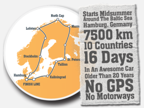 Baltic Sea Circle, BSC, Rallye
