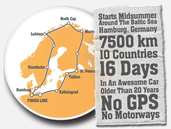 Baltic Sea Circle, BSC, Rallye