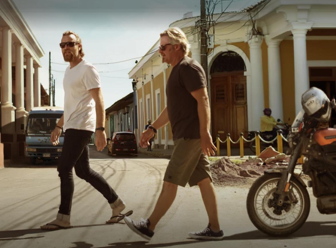 Long Way Up, Ewan McGregor, Charley Boorman, Motorbike