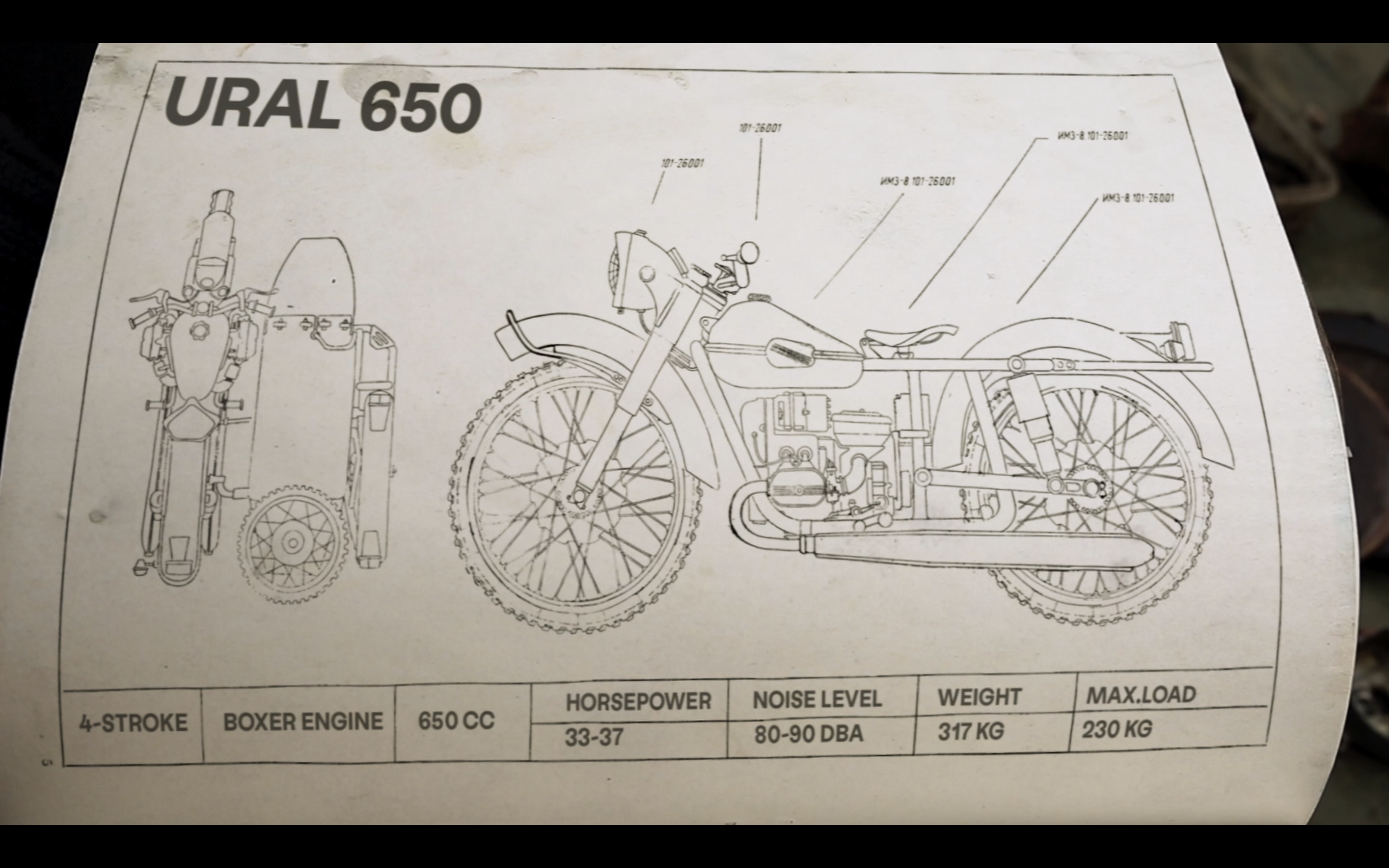 972 Breakdowns, Film, Ural